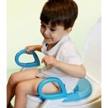Toilettentrainer Weißblau