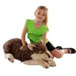 Wild Republic Cuddlekins Jumbo Wolf 76 cm
