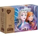 Clementoni Puzzle 104 Teile - Die Eiskönigin 2