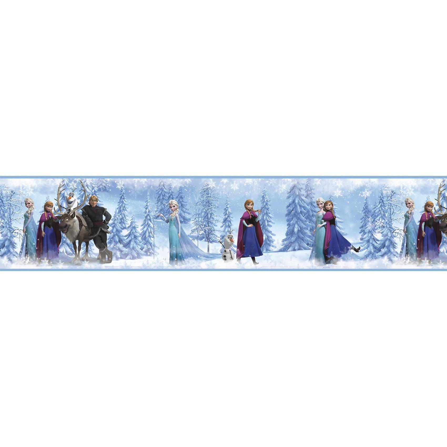 RoomMates Bordüre Die Eiskönigin 45 m x 13 cm
