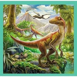 Trefl 3in1 Puzzle 203650 Teile Dinosaurier