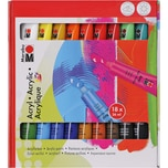 Marabu Acrylfarben-Set 18 x 36 ml