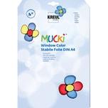 C. Kreul Mucki Window Color Stabile Malfolie A4 3 Blatt