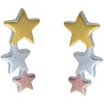 Janusch Kinder Ohrstecker 3 Sterne
