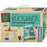 Kosmos Bastelbox Rucksack im Batik-Look