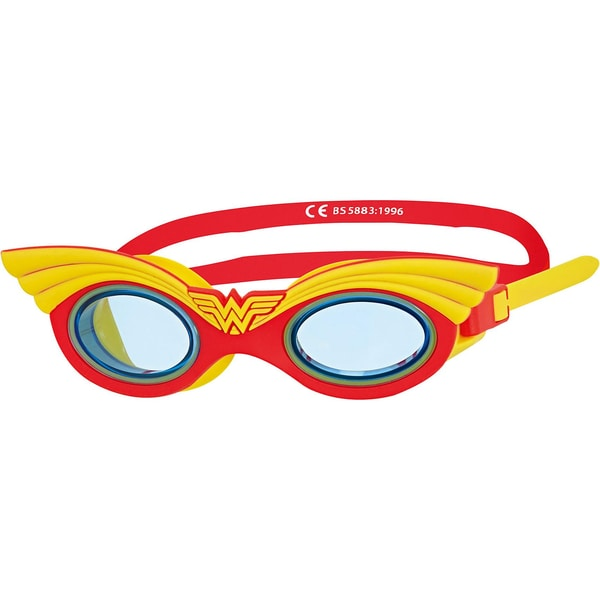 Zoggs Schwimmbrille Wonderwoman Character rot-gelb