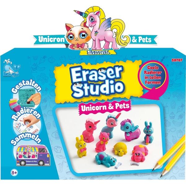 Beluga Eraser Studio Einhörner Haustiere