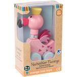 Orange Tree Toys Nachziehtier Flamingo 46007