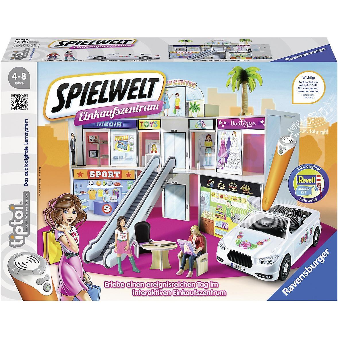 Ravensburger tiptoi Spielwelt Einkaufszentrum ohne tiptoi Stift