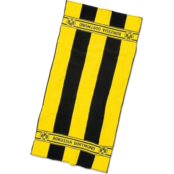 Borussia Dortmund BVB-Duschtuch mit Blockstreifen 70x140cm