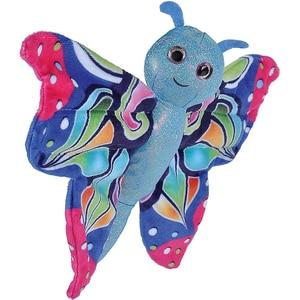 Wild Republic Huggers Schmetterling Blau