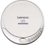 Lenco CD-Player CD-201 silber