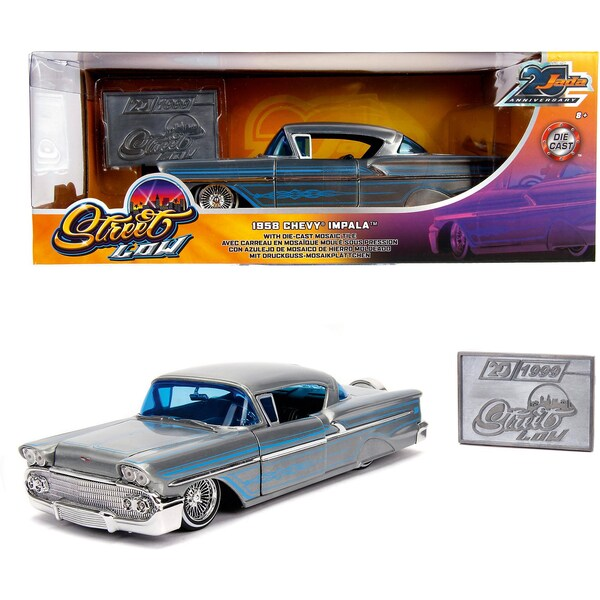 Dickie Toys 1958 Chevy Impala-Hard Top Wave 1