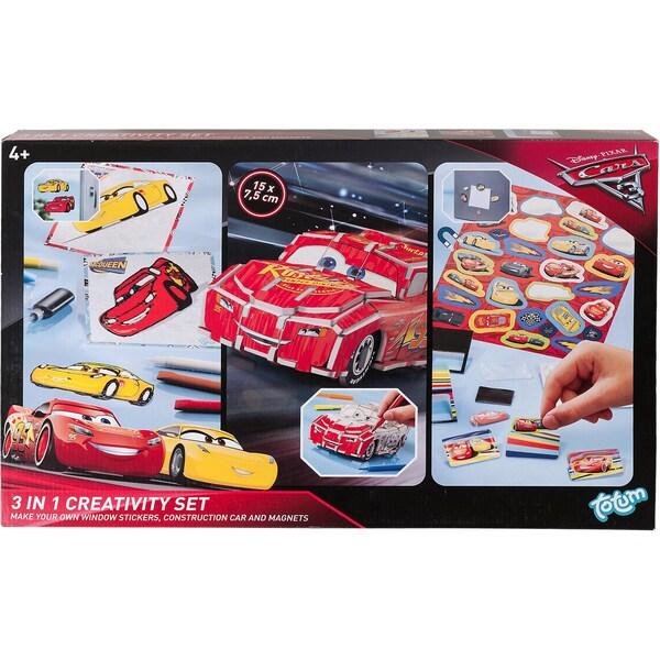 TOTUM Cars 3 - 3 in1 Kreativset