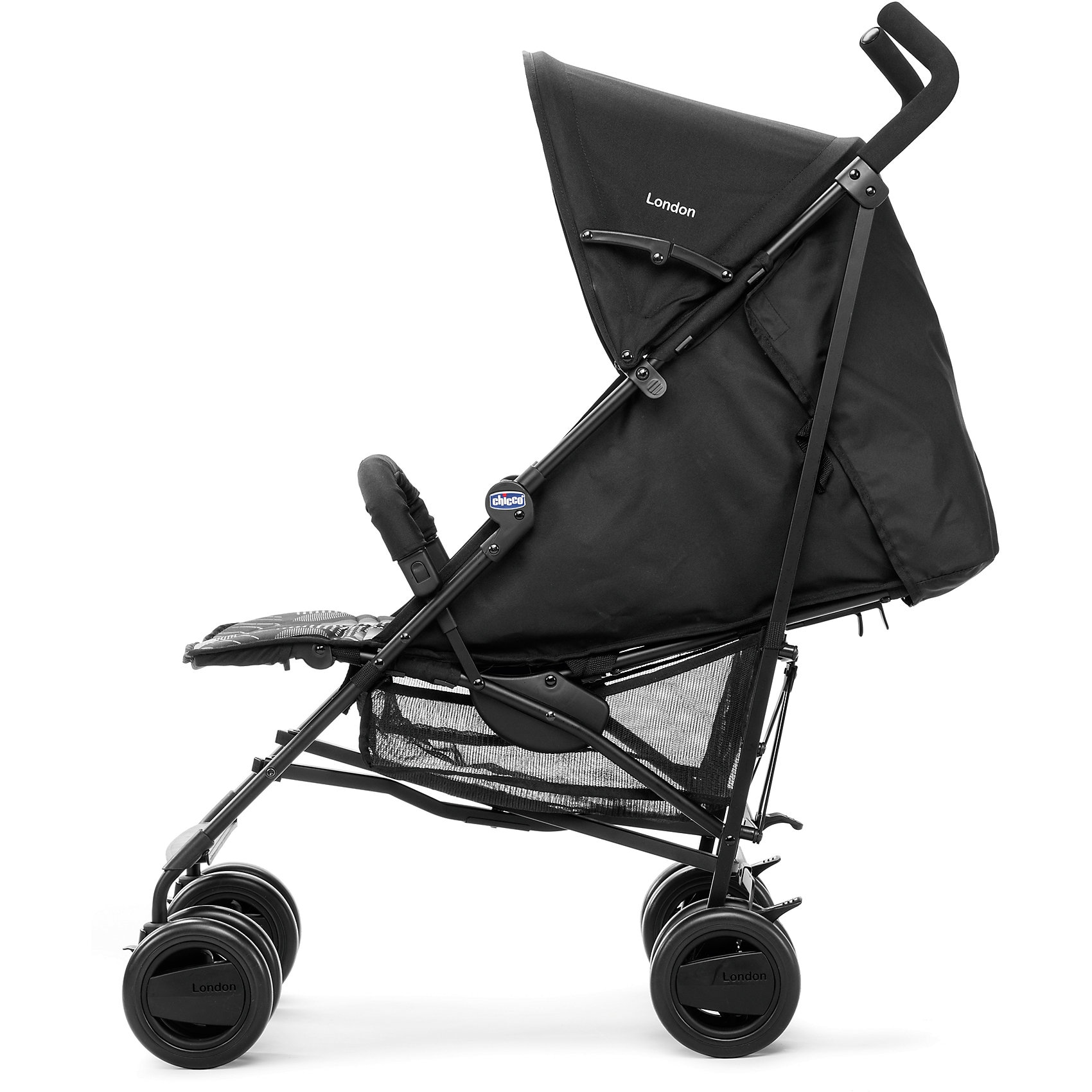 CHICCO Buggy London Up inkl. Regenschutz blue passion 2018