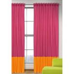 Vorhang Uni magenta-orange 245x135 1 Schal