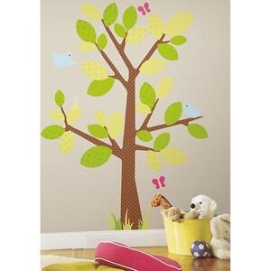 RoomMates Wandsticker Baum Kids 47-tlg.