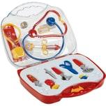 Klein Spielzeug großer Doktorkoffer transparent