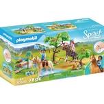 Playmobil 70330 Spirit: Herausforderung am Fluss