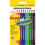 Eberhard Faber Buntstifte Tri WINNER 12 Farben