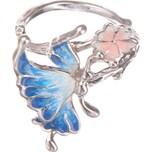 Janusch Janusch Kinder Ring mit Schmetterling