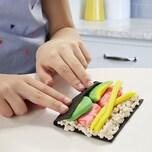 Hasbro Play-Doh Kitchen Creations Sushi Spielset mit Sushibox für Kinder ab 3 Jahren mit 9 Play-Doh