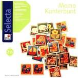 Selecta Memo Kunterbunt Kinderspiel