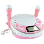 X4-TECH X4-TECH Kinder CD-Player Bobby Joey Jambox rosa