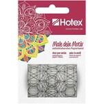Hotex Selbstklebendes Papierband zum Ausmalen male dein Motiv Mandala