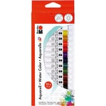 Marabu Aquarellfarben-Set 12 x 12 ml