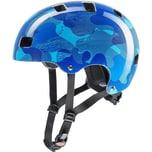 Uvex Fahrradhelm Kid 3 Blue Camo 51-55 cm