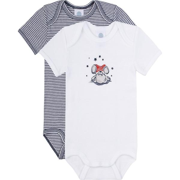 Sanetta Bodies Baby Doppelpack für Jungen Organic Cotton