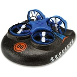 Amewi Trix - 3 in1 Hovercraft Drohne blau. Für Wasser - Land - Luft