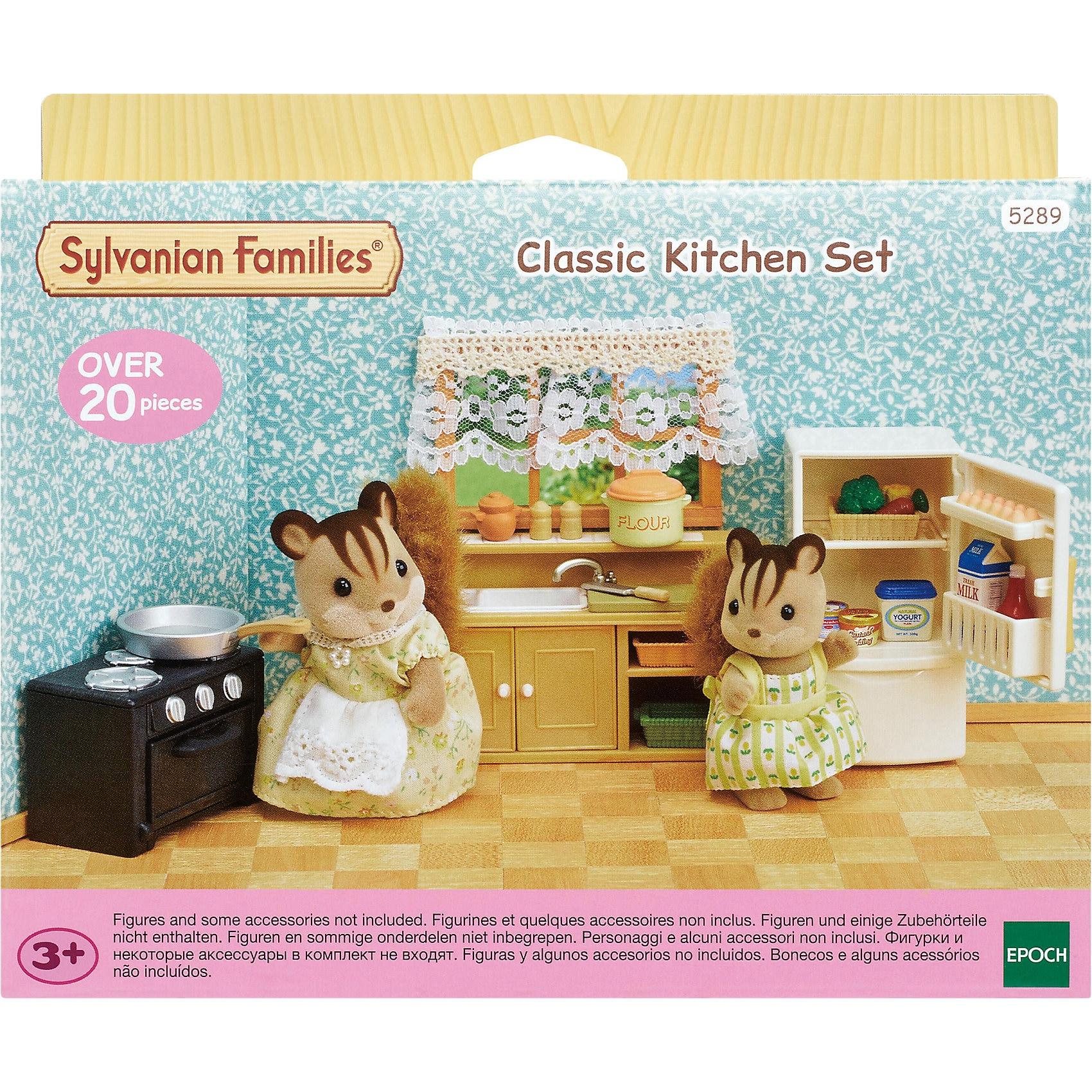 Epoch Traumwiesen Sylvanian Families Klassisches Küchen-Set