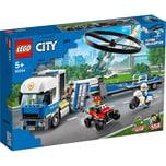 LEGO 60244 City: Polizeihubschrauber-Transport