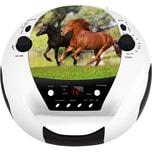 Bigben CD-Player mit Radio CD52 Horse