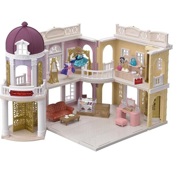 Epoch Traumwiesen Sylvanian Families Einkaufszentrum Wunschbrunnen Geschenkset