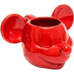Joy Toy Mickey Mouse 3D Keramik Tasse Rot