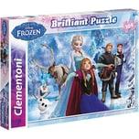Clementoni Brilliant Puzzle 104 Teile Die Eiskönigin
