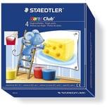 Staedtler Noris Club Fingermalfarbe 4 x 100 ml