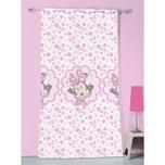CTI Vorhang Minnie Mouse Stylish Pink 140 x 240 cm