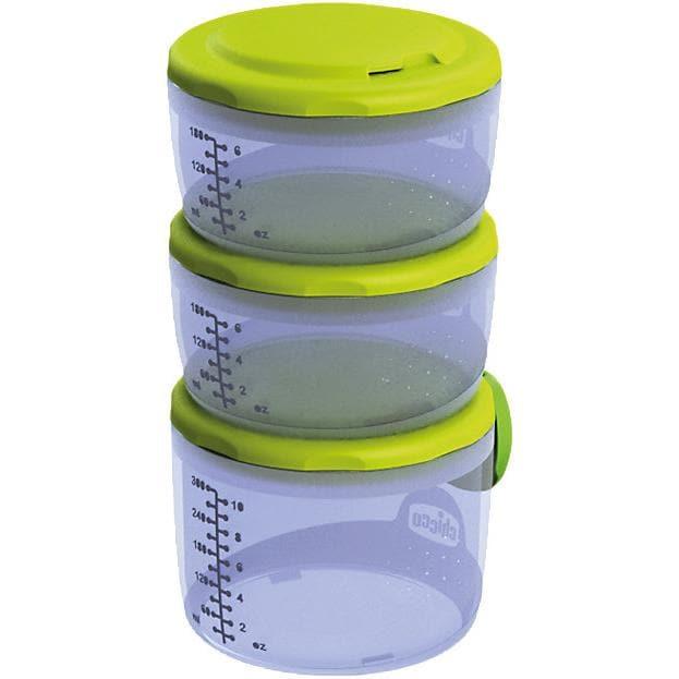 Chicco Aufbewahrungsbehälter für Babynahrung System Easy Meal 3.tlg.