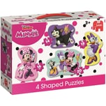 Jumbo 4in1 Konturenpuzzle Minnie Mouse 14/16/18/20 Teile