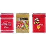 Chr. Tanner Spiellebensmittel Haribo Coca Cola Pringles Dosen-Set