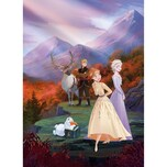 KOMAR Fototapete - Disney Frozen spring is coming 184x254 cm