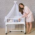 Tobi Betthimmel für babybay weiß