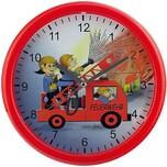 Wanduhr Feuerwehr