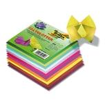 Folia Faltblätter 15 x 15 cm farbig sortiert 100 Blatt
