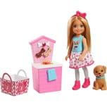 Mattel Barbie Chelsea Puppe mit Hündchen-Stand