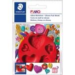 FIMO FIMO Silikon Motivform Herzen